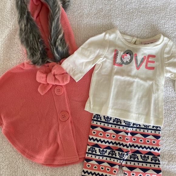 Little Lass Outerwear Set